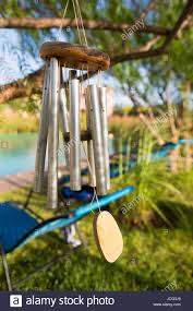 Windchimes Hanging In Tree High Resolution Stock Photography and ...